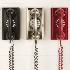 vintage wall phone crosley retro telephone sturbridge yankee work