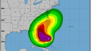 Hurricane Dorian Track Projected Path Spaghetti Models