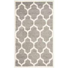 amherst dark gray beige 3 ft x 5 ft indoor outdoor area
