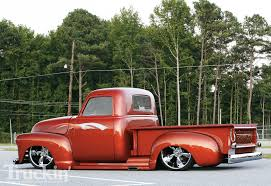 1949 Chevy Pickup - 22 Inch Rims - Truckin' Magazine