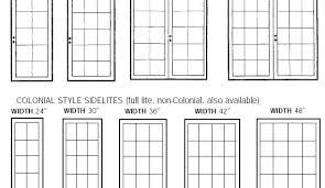 Standard French Door Size Hworld Co