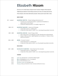 Modern Resume Template Google Docs Resume Templates Google Docs