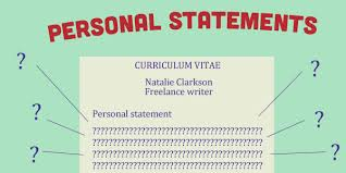 Resumes Personal Statements Cv Personal Statements And How To Write Them Gothinkbig