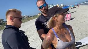 Woman detained for wearing <b>thong</b> on Myrtle Beach pushing for law ...