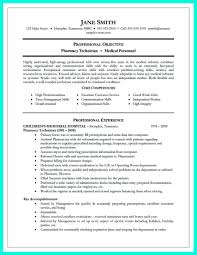 Resume For A Pharmacy Technician Awesome What Objectives To Mention In Certified Pharmacy Technician 14
