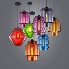 vintage art color glass pendant lights classic for mutto e27 design colored glass pendant lights coloured