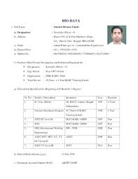 Resume Format For Teacher Post Awesome Indian Resume Format Best Rmat R Teachers Word Of Teacher In Free