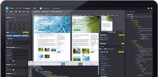 web editor website builder for professionals works on mac windows and linux