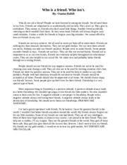 definition essay on best friend illiteracy supervisor cf definition essay on best friend