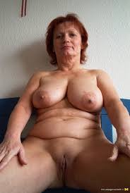Nude old pic woman