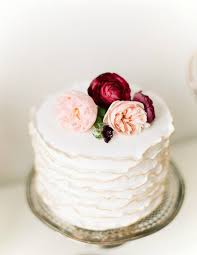 Wedding Trend Single Tier Cakes Bajan Wed
