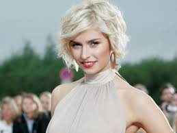Hair Style Tv Shows beautiful tv show photo lena gercke in white hair and red lips 8033 by stevesalt.us