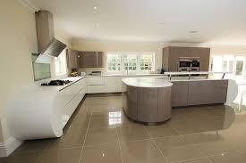 modern curved kitchen island. Kitchen Design With Mulitple Curves Modern Curved Island