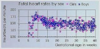 Fetal Heart Rate Chart Gender Fertility Baby Gender Conceiving Baby Gender