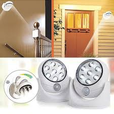 cordless indoor outdoor motion sensor led light. wireless motion sensor 7-led indoor \u0026 outdoor safety light \u2013 catchyprice cordless led