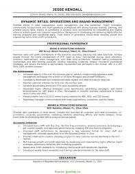 Store Executive Resume Sample Typical Store Executive Job Responsibilities Resume Sample Sample 9
