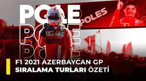 F1 2021 Azerbaycan GP Sıralama Turları Özeti - YouTube