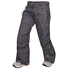 Womens Patterned Ski Pants
