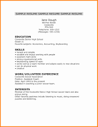 Sample Resume For Highschool Graduate Bkperennials