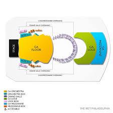 The Met Philadelphia Seating Chart View Deadmau5 Philadelphia Tickets 1 23 2020 8 00 Pm Vivid Seats