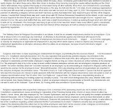 religious essay religious