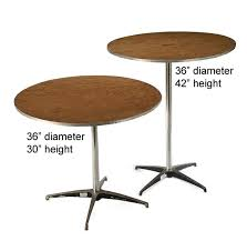 36 round cocktail table 36