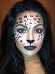 leopard makeup photo 1