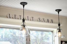 over kitchen sink lighting. IRON TWINE Our Almost Finished Kitchen Makeover · Most Recommended Lighting Over Sink T