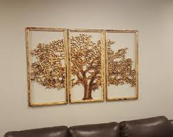 >3d tree wall art etsy