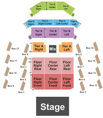 Anthem Chart The Anthem Seating Chart Washington Dc