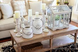 For Decorating A Coffee Table Furniture Vintage Room Idea With Glass Coffee Table Decor Using