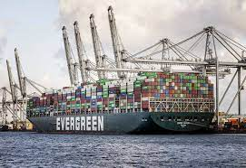"""Containerschiff """"Ever Given"""" in Rotterdam angekommen"""