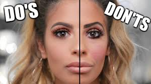 makeup do s and don ts makeup mistakes to avoid 2017
