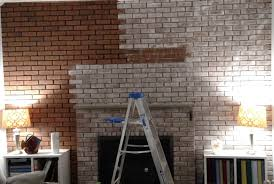How To Whitewash Brick To Whitewash Brick To Give A Wall Character