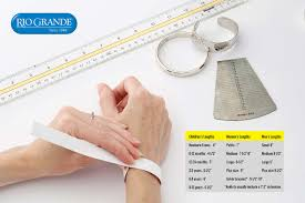 Ring Blank Sizing Chart Uk How To Determine Bracelet Size