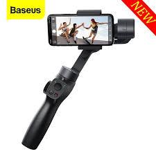 <b>Baseus 3</b>-<b>Axis</b> Handheld Gimbal Stabilizer Outdoor <b>Bluetooth</b> Selfie ...