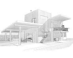 architecture house sketch. Simple Sketch Modern Home Architecture Sketches Design Decorating 411593  And House Sketch