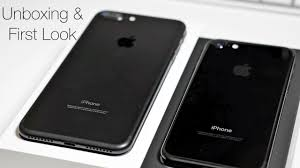 iphone 7 plus black unboxing. iphone 7 \u0026 plus \u2013 unboxing and first look iphone black o