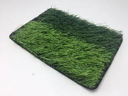 green grass football field. Durable 55mm Green Artificial Sports Turf , Football Field Synthetic Grass