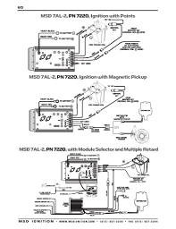 msd ignition wiring diagrams msd 7a l 2 points ignition
