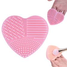 details about new silicone makeup brush cleaner mat washing glove cosmetic cleaning scrubber