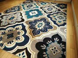 8x10 area rugs awesome new modern blue gray brown rug casual large decor