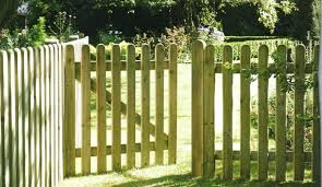 wood picket fence gate. Wooden Picket Fence Fences And Gates Wood The Fencing Company In Tel How To Make A Gate E
