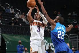 Suns strike first as paul powers phoenix to game 1 victory. Nba Finals Matchup Set Suns Vs Bucks Bright Side Of The Sun