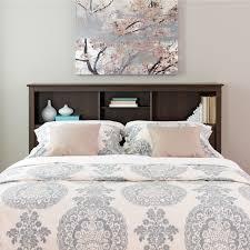 Manhattan Bedroom Furniture Prepac Manhattan Espresso Double Queen Storage Headboard Home