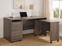 Designer Home Office Desks Awesome Bravia Rustic Grey Home Office Desk