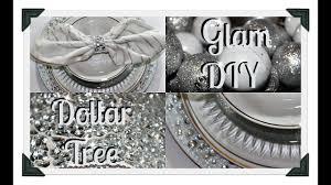 dollar tree diy glam charger plates