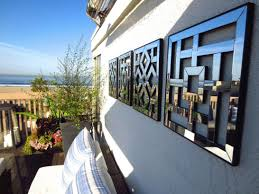 decorative outdoor wall art rooftop deck w mirrored wall hangings ocean view in marina del rey on mirror wall art uk with decorative outdoor wall art rooftop deck w mirrored hangings ocean