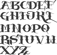 Fonts For Tattoos Type Of Fonts For Tattoos Search Result 232 Cliparts For Type Of