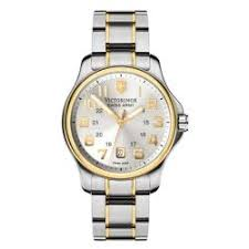 victorinox swiss army men s officer s two tone dial watch victorinox swiss army men s officer s two tone dial watch